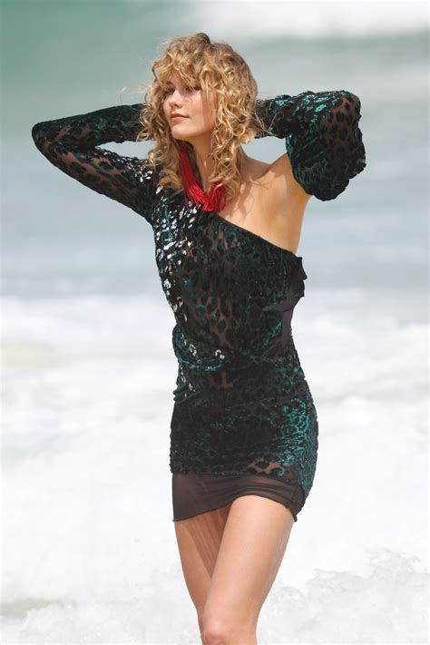 Karlie Kloss The Set Photoshoot Bondi Beach