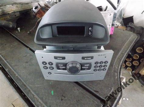opel corsa radio opel corsa d radio cd30 mp3 wyświetlacz zdjęcie na imged