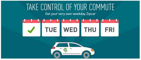 Zipcar Commuter Plan For 9 A Month