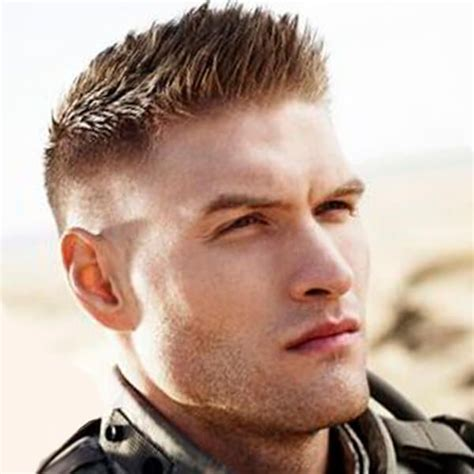 undercut haircut  military style mens hairstyles