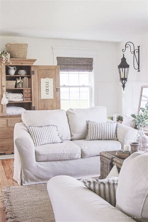 Living Room Slipcovers  A Comfort Works Review