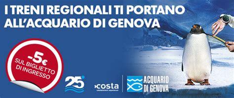 Costo Ingresso Acquario Di Genova - offerte trenitalia 5 di sconto per entrare all