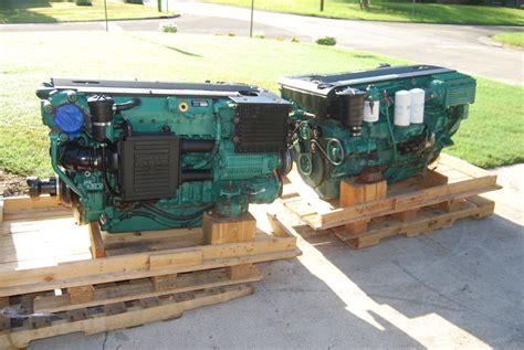 volvo   marine diesels complete set