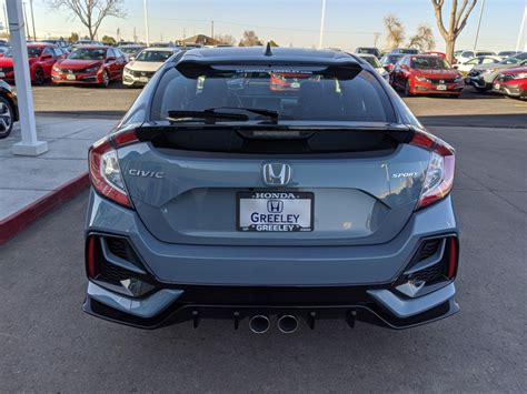 Check spelling or type a new query. New 2020 Honda Civic Hatchback Sport Hatchback in Greeley ...