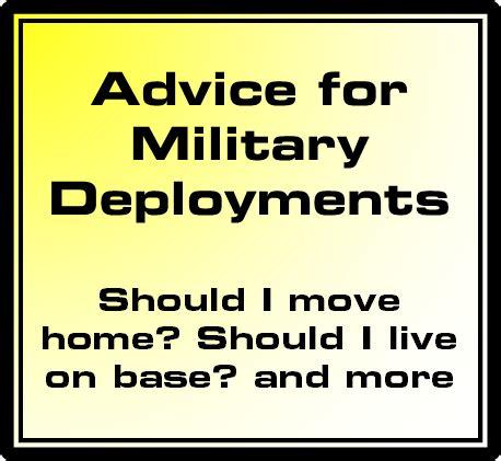 marine corps deployment advice