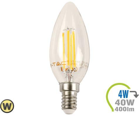 E14 Led Kerze 4w Filament Warmweiß Online Bestellen Und Kaufen
