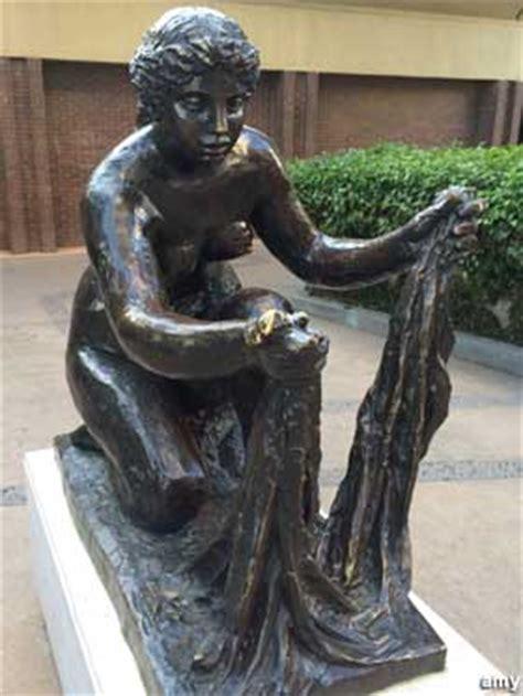 fresno ca renoir washer woman sculpture  transition