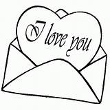 Coloring Heart Valentine Hearts Letters Printable Sheets Colouring Adult Boys sketch template