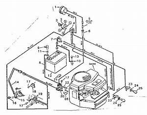 Craftsman Sears 18 H P  Garden Track Parts
