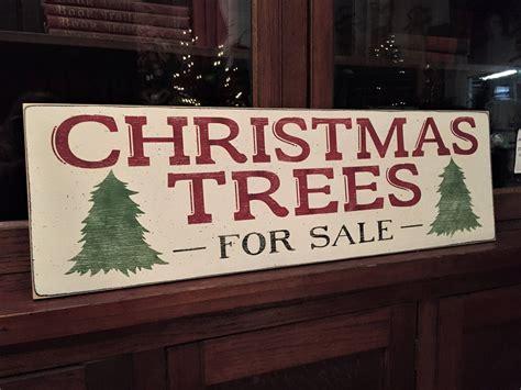 christmas trees  sale sign christmas farmhouse sign