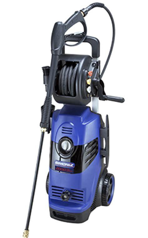 simoniz 2000 psi electric pressure washer simoniz