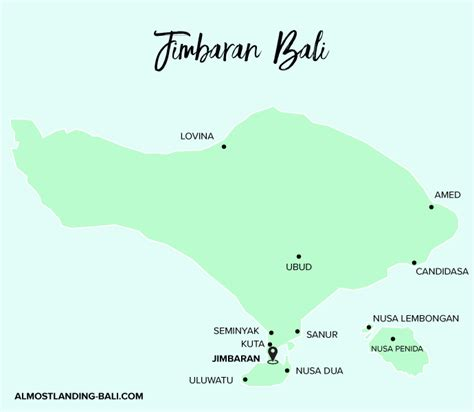 jimbaran bay travel guide  landing bali