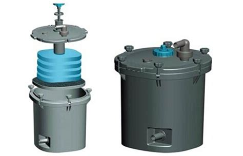 biological pond bio filter pond filtration system vertical