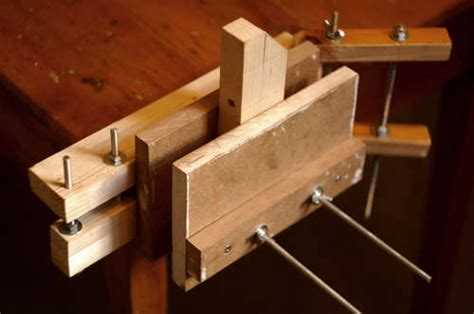 diy bench vice hackaday
