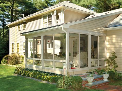 Diy Screened In Porch Kit by 10 Inviting Porches Balconies And Sunrooms Diy Patio