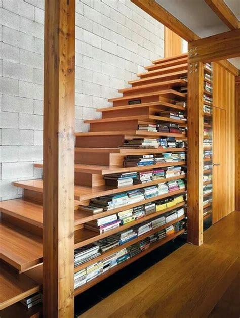 Moderne Und Kreative Innenraum Holztreppenelegante Holz Innentreppe by Regal Treppe Kluge Idee F 252 R Ihr Zuhause Archzine Net