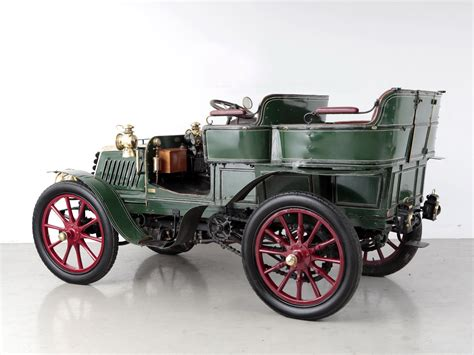 1902 Panhard Levassor Type0b1 12 Hp Rear Entrance