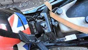 Aprilia Rs 125 How To Remove Tank To Get To Engine Bay Tank Removal