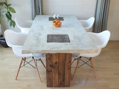 designer eco eco diy feature concrete table