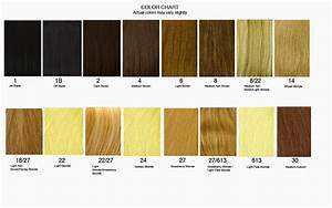 How to find the right hair extensions for you hair for Hair color letters