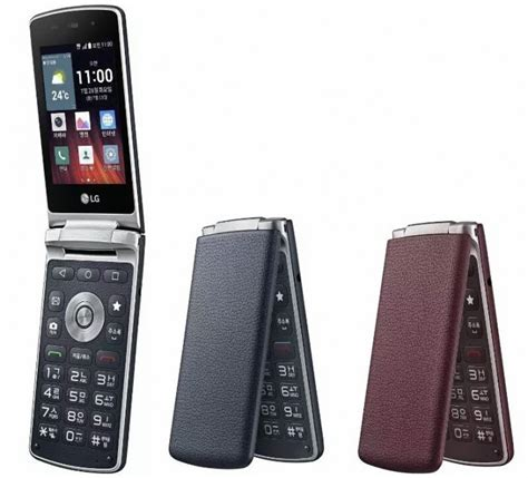 lg gentle flip phone announced in south korea new mobile