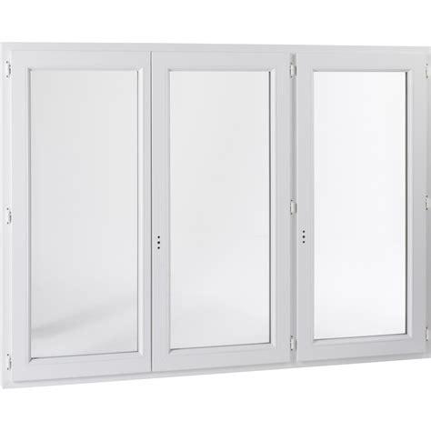 fenetre fixe pvc leroy merlin 1 porte fenetre pvc blanc 4 vantaux coulissante bois 125 wasuk