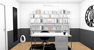 Bureau Moderne Design : d coration d 39 int rieur d 39 un bureau vaux le p nil 77 designement v tre ~ Teatrodelosmanantiales.com Idées de Décoration