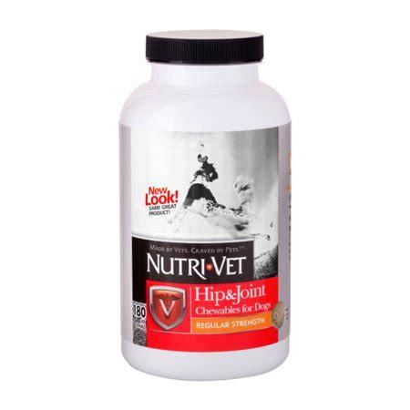 Nutrivet Hip & Joint Regular Strength Chewables 180ct