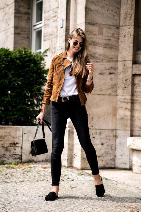 Braun Kombinieren Mit Welcher Farbe by How To Wear A Brown Leather Jacket Fashion Week