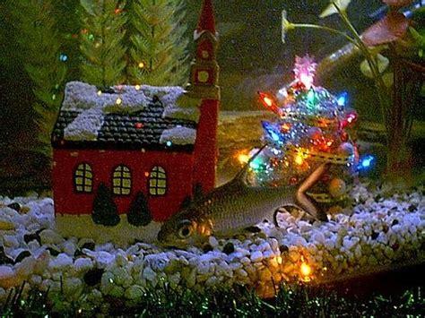 christmas fish tank decorations google search
