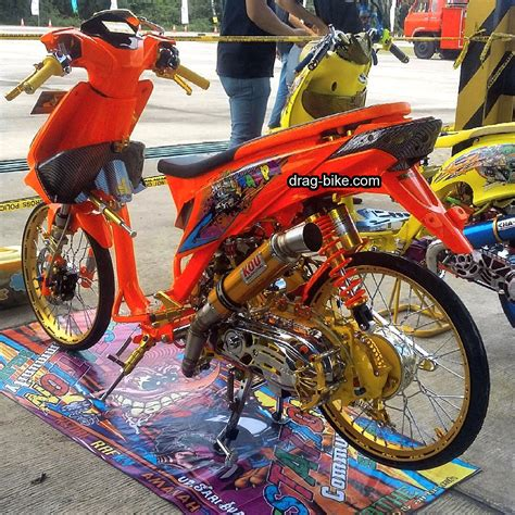 Foto Modifikasi Beat New by 50 Foto Gambar Modifikasi Beat Kontes Racing Jari
