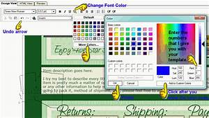 helpful tips from indizona how to use an ebay listing With ebay turbo lister templates