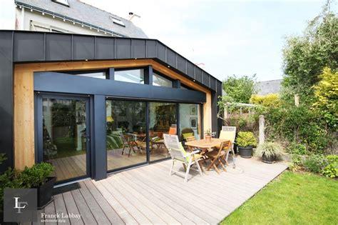 extension bois par franck labbay architecte morbihan
