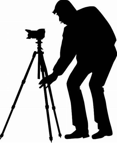 Photographer Silhouette Clip Insurance Videographer Clipart Vector