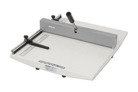 magnum mcr manual creasing machine