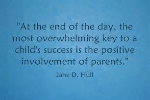 Parent Involvement Quotes School