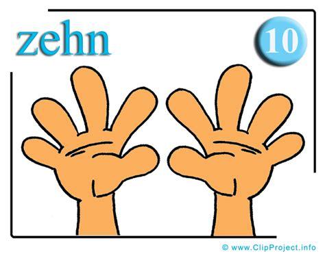zehn finger clipart fuer mathe