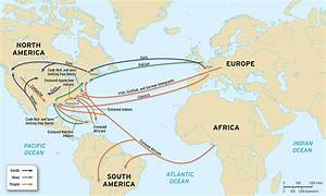 Pics For > Atlantic Slave Trade Map