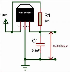 A3144 Hall Effect Sensor Pinout  Working  Alternatives