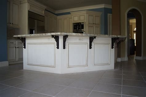 incomparable kitchen island overhang support from black