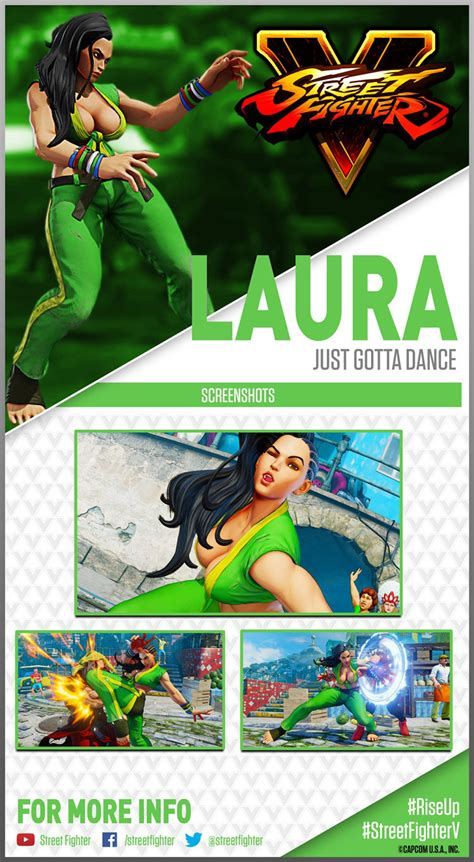 Laura Street Fighter 5 trading card 1 out of 1 image gallery