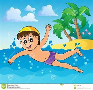 Swimming Theme Image 4 Royalty Free Stock Photos - Image ...