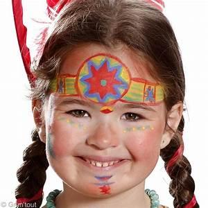 Modele Maquillage Carnaval Facile : tuto maquillage pocahontas id es et conseils maquillage ~ Melissatoandfro.com Idées de Décoration