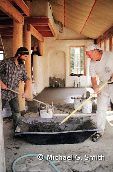 earthen floors straw clay wood