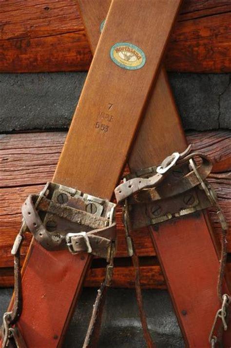antique northland skis vintagewinter