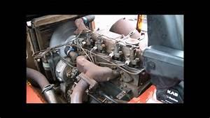 Perkins 4 Cylinder Diesel Starten
