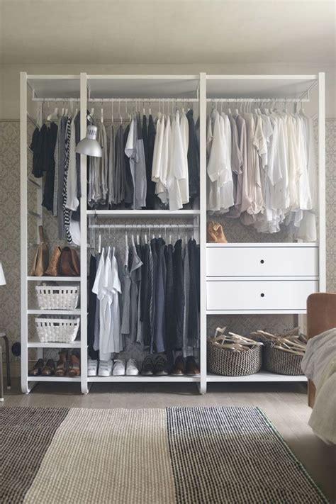 Wardrobe Clothes Storage by You Choose How To Combine Ikea Elvarli Shelving So You