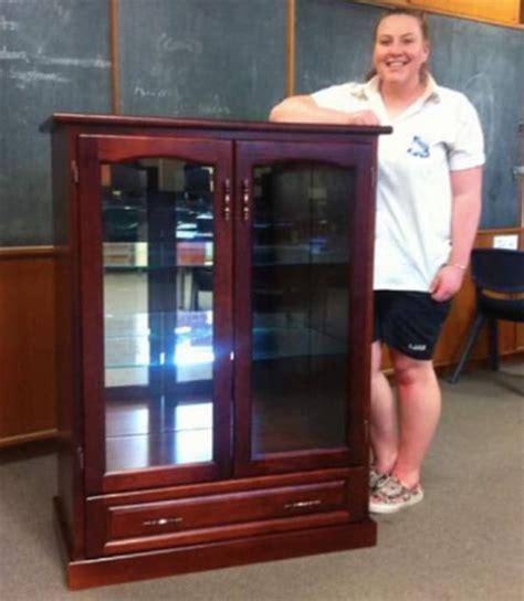 Pine Display Cabinet Australian Wood Review