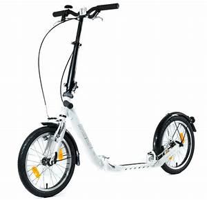 Roller Für Erwachsene Mit Luftreifen : trottinette pliable kickbike clix pneu freins v brake ~ Kayakingforconservation.com Haus und Dekorationen
