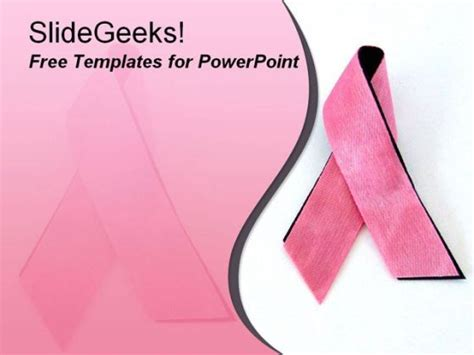 breast cancer ppt template breastcancer 1009 breast cancer awareness